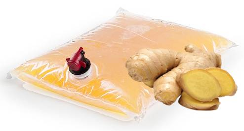 Organic Ginger Juice 20 KG Bag in a box